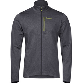 Bergans M's Fløyen Fleece Jacket Solid Dark Grey/Sprout Green